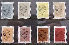 Stadspost Gezamenlijke Uitgiften 1984 - Serie van 8 zegels Prinses Juliana