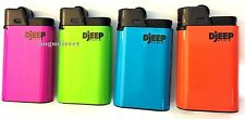 Djeep large lighter Hot Body Neon colors 12 Pcs