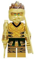 Ninjago Golden Lloyd Jay Kay Master of Spinjitzu Custom Lego Mini Figure Ninja