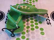 CROCS CROCBAND FLIP FLOP KADEE ABF CAPRI ATHENS SHOE SANDAL~Lime Green~M 4 W 6