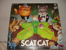 Vintage Scat Cat Game By Tomy In Original Box!! USED, Good Cond! #7074