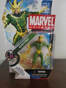 Marvel universe 3.75 action figures Electro #025