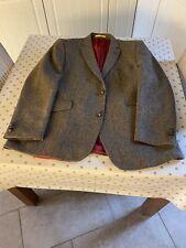 "Men's Wool Tweed Jacket The Tweed By Fitecom 100% Wool Size UK 48"" Chest"