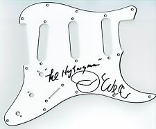 Jimmy Webb Hand Signed Autographed Stratocaster Highwayman Guitar Scratch Plate