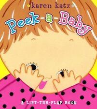 Peek-a-Baby: A Lift-the-Flap Book, Katz, Karen, New Book