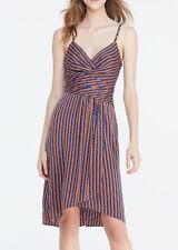 Diane Von Furstenberg 'Saige' ~ Geo Print Silk Blend Party Dress 14 NEW $448