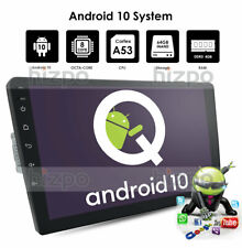 """Android 10 1Din 9"""" HD Car Stereo Octa-Core Radio GPS 4GB+64GB HD RDS BT DAB DSP"""