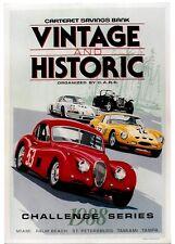 Original vintage poster FLORIDA VINTAGE CARS CHALLENGE 1988