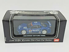 KYOSHO 1:64 BEADS COLLECTION - Nº 088 CALSONIC SKYLINE 2003 NISSAN NEW
