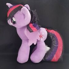 "My Little Pony Twilight Sparkle Unicorn Purple Plush Stuffed Animal Star 12"""