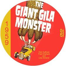 "The Giant Gila Monster (1959) Sci-Fi and Horror NR CULT ""B"" Movie DVD"