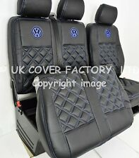 MADE TO MEASURE VAN SEAT COVER PREMIUM-VW TRANSPORTER T5 BENTLEY BLUE