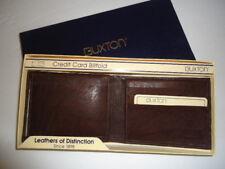 Buxton Men's Dingo Genuine Leather Billfold Wallet, Brown