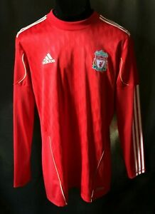 LIVERPOOL AUTHENTIC SHIRT JERSEY ADIDAS TECHFIT SOCCER PLAYER ISSUE FOOTBALL red