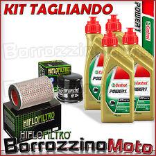 KIT TAGLIANDO OLIO CASTROL PASTIGLIE FRENO ANTERIORI HONDA CB 600 F3 HORNET 2003