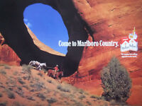 PUBLICITÉ DE PRESSE 1990 MARLBORO the number one selling cigarette -- cowboy