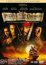 Pirates of The Caribbean: Curse of the Black Pearl 2-disc DVD Set (Region 4 PAL)