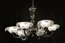 Lustre d'époque Art Deco / Chandelier Vintage Art Deco