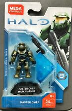 Mega Construx Halo Series 8 Master Chief Mark V Armor Mini Figure Fvk24