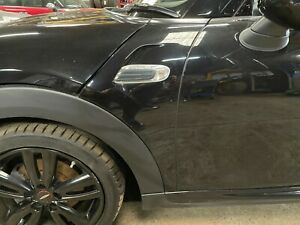 MINI Left Hand Side Front Wing Side Panel In Midnight Black Metallic F55 F56 F57