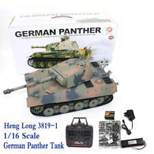 Heng Long 1/16 German Panther Battle Tank 3819-1 2.4Ghz Full Scale R/C Function