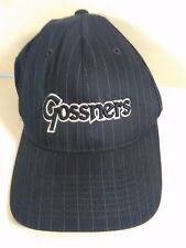 GOSSNERS FLEXFIT HAT BASEBALL CAP ONE SIZE S-M ADJUSTABLE TRUCKER'S