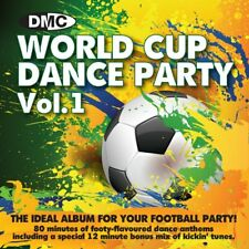 DMC World Cup Dance Party Megamix Continuous Mixed DJ CD Football Soccer Music
