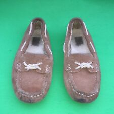 UGG AUSTRILIA junior's  brown Slip On Indoor Outdoor Shoes  size-3