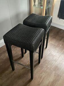 2 Neptune Montague slate stools
