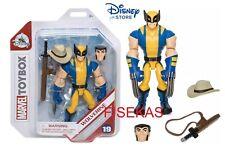 Disney Store Marvel Avengers WOLVERINE Action Figure #19 Sword Hat Toybox NEW