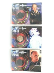Babylon 5 From the Archives Authentic Piece Costume Material Rittenhouse Cards
