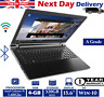 "Lenovo 100-15IBD 15.6"" Laptop Intel Celeron 1.60Ghz 4GB RAM 320GB HDD Windows 10"