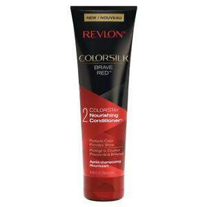 Revlon ColorSilk Care Conditioner, Red, 8.45 Fluid Ounce