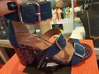VANESSA WU été 2017 : sandales jean talon,neuves, étiquetées prix 55€ (-40%)