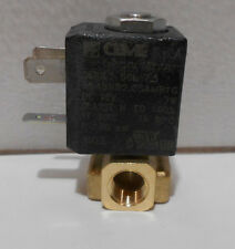 CEME S.P.A. 12V SOLENOID VALVE 1/8 NPT IN & OUT 100 PSI