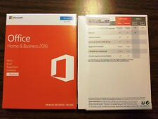Microsoft Office Home & Business 2016 Product Key Card,Full Retail,SKU T5D-02776