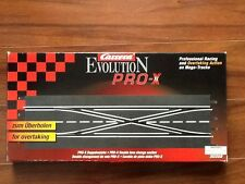 CARRERA 1/32 EVOLUTION PRO X DOUBLE LANE CHANGE TRACK # 30322  FACTORY SEALED