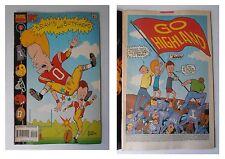 "Beavis and Butt-Head 21, Marvel Comics Absurd ""Stupid"", 1995, Go Highland, MTV"