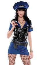 SEXY Abito Vestito Completo Costume Poliziotta taglia s/m Party Fashion GLAMOUR