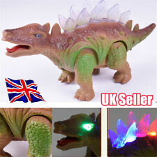 Light Up Dinosaur Remote Control Walking Robot Roaring Interactive Toy Gift YP
