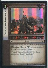 Lord Of The Rings CCG Foil Card TTT 4.U8 Death To The Strawheads