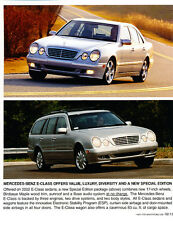 2002 Mercedes Benz E-Class Car Product Guide Brochure like - E320 E430 E55 AMG