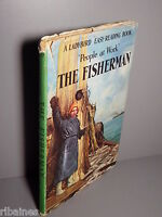 R&L Ladybird Book: People at Work, The Fisherman, Series 606B, Dustwrapper