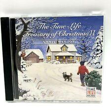 The Time-Life Treasury of Christmas II CD Christmas Joy Santa Baby Eartha Kitt