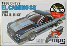 MPC 1986 El Camino SS with Trail Bike, 1/25, New (2018) in Factory Sealed Box