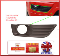 Fits FORD FOCUS 04-08 MK2 NEW O/S FRONT DRIVER SIDEFOGLIGHT GRILL 4M51-19952-AE