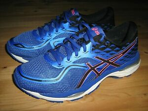 Women's sz 8.5 M Asics Gel Cumulus 19 (T7B8N) Blue Running Shoes