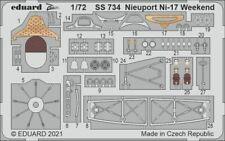 EDUARD ZOOM SS734 Detail Set for Eduard Kit Nieuport Ni-17 in 1:72