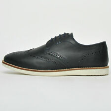 Mens Red Tape Tirley Blue Leather Shoes Wedding Work Formal Party Brogue Shoes UK 8