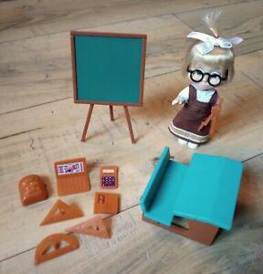 Masha et Michka - Poupée Masha écolière 12 cm + accessoires - Simba
